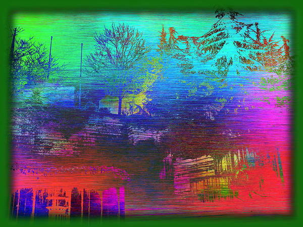 Arbor Digital Art - Arbor In The City 3 by Tim Allen