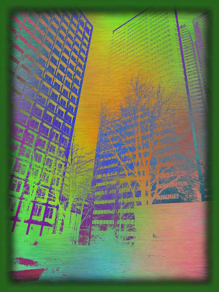 Arbor Digital Art - Arbor In The City 4 by Tim Allen