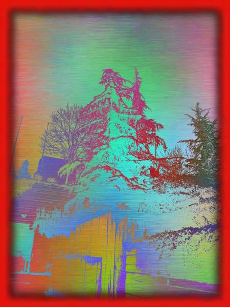 Wall Art - Digital Art - Arbor In The City 5 by Tim Allen