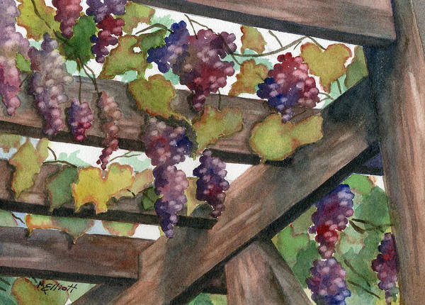 Arbor Wall Art - Painting - Arbor by Marsha Elliott