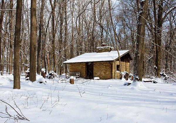 Photograph - Arboretum Hut - Madison - Wisconsin by Steven Ralser