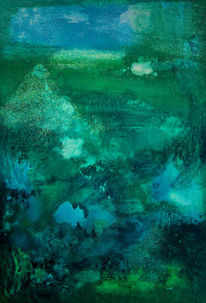 Rain Song Painting - Arboretum Of Love by Amanda Lamprecht