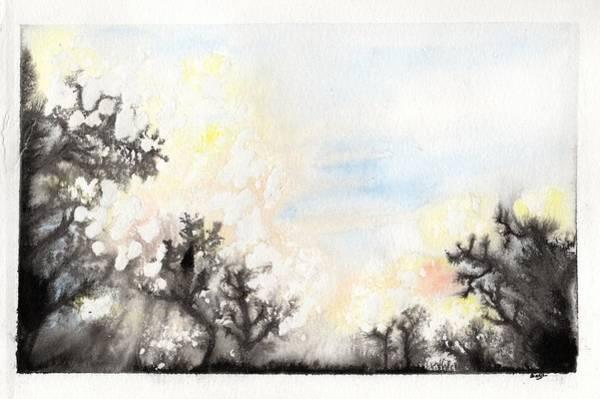 Painting - Arbres En Feu by Marc Philippe Joly
