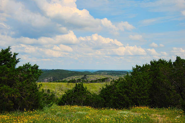 Photograph - Arbuckle Mountains by Paulette B Wright