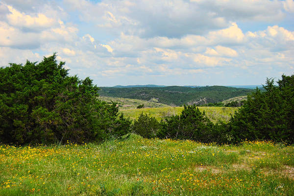 Photograph - Arbuckle Mountains Vista by Paulette B Wright