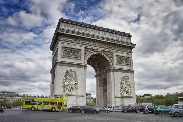 Photograph - Arc De Triomph - Paris by Kim Andelkovic