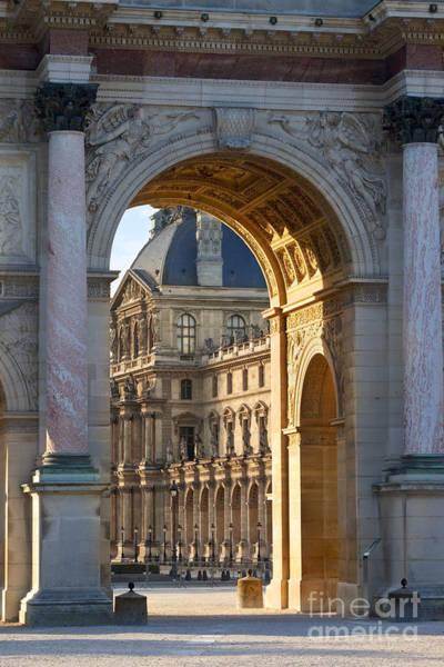 Photograph - Arc De Triomphe Du Carrousel by Brian Jannsen