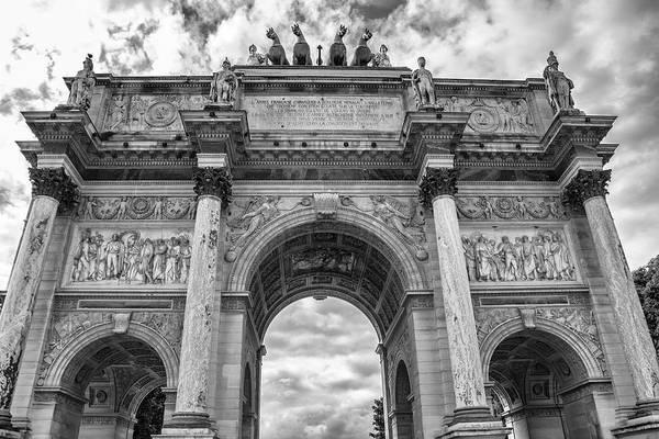 Photograph - Arc De Triomphe Du Carrousel by Georgia Fowler