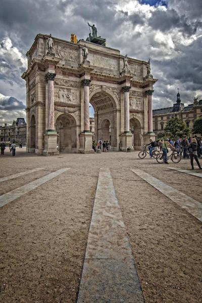 Photograph - Arc De Triomphe Louvre  by Mauro Celotti
