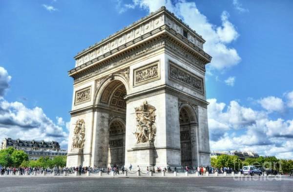 Photograph - Arc De Triomphe by Mel Steinhauer