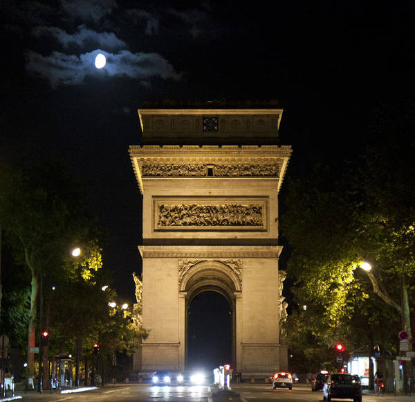 Photograph - Arc De Triomphe by Nathan Rupert