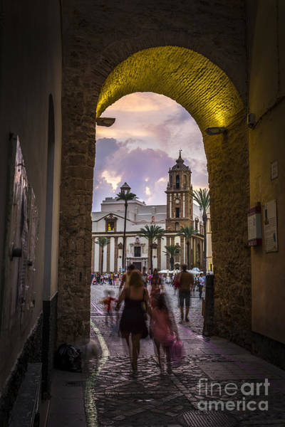 Photograph - Arc Of The Rose Cadiz Spain by Pablo Avanzini