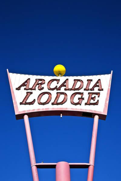 Arcadia Lodge Art Print
