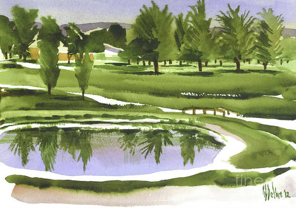 Country Club Painting - Arcadia Valley Country Club by Kip DeVore
