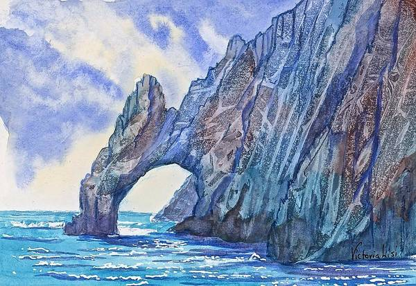 Painting - Arch At Cabo by Victoria Lisi
