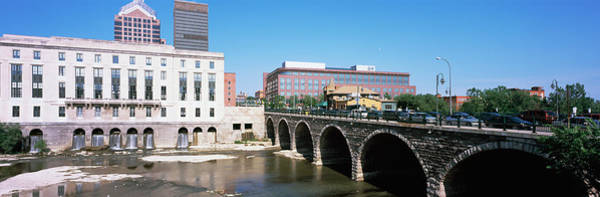 Genesee Photograph - Arch Bridge Across The Genesee River by Panoramic Images