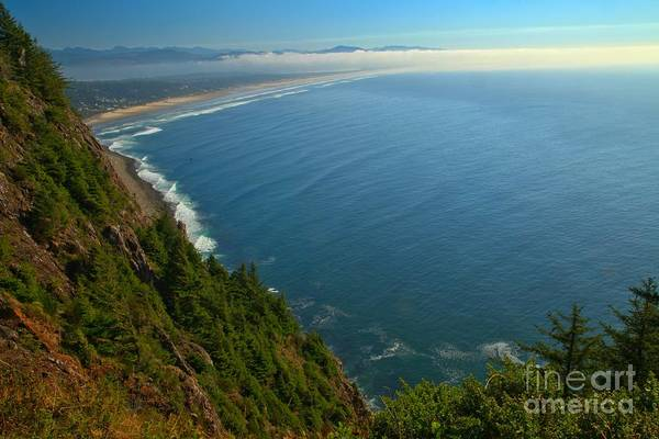 Photograph - Arch Cape Overlook by Adam Jewell
