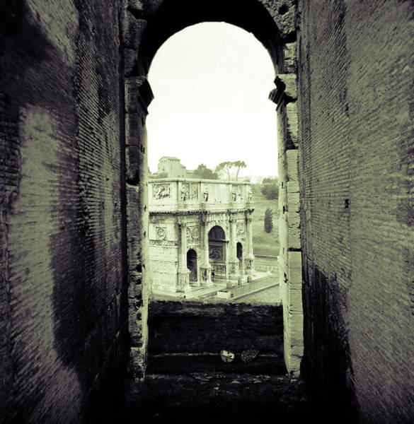 Photograph - Arch Of Constantine In Rome by Emanuel Tanjala