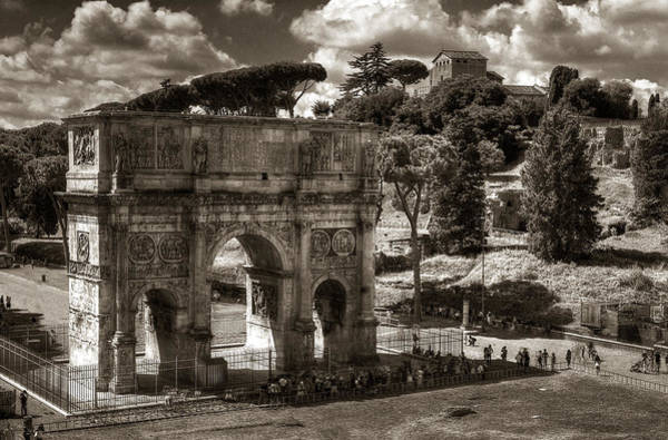 Photograph - Arch Of Contantine by Michael Kirk