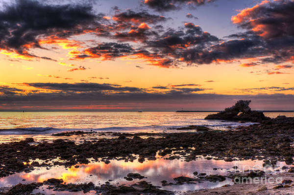 Photograph - Arch Rock At Corona Del Mar by Eddie Yerkish