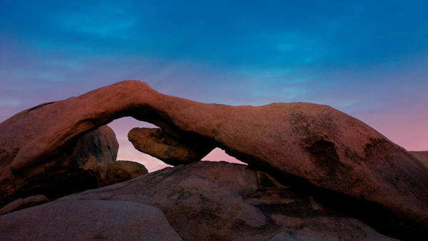 Joshua Tree National Park Wall Art - Photograph - Arch Rock Evening by Stephen Stookey