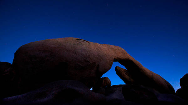 U2 Photograph - Arch Rock Starry Night by Stephen Stookey