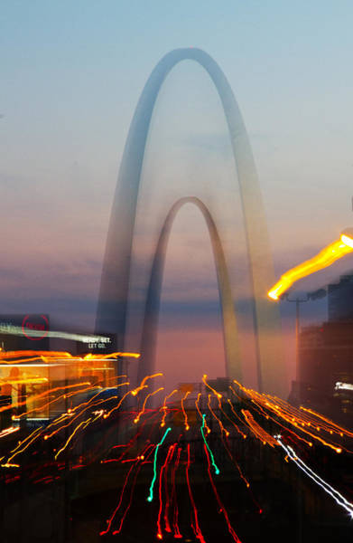 Fx Photograph - Arch Special Effect by Garry McMichael