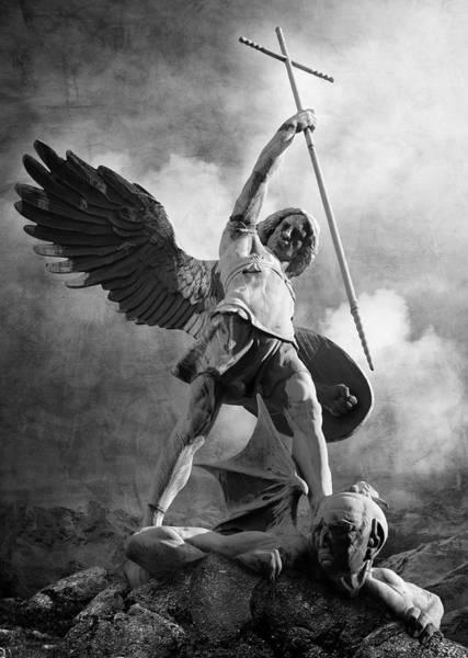 Photograph - Archangel Michael by Marc Huebner