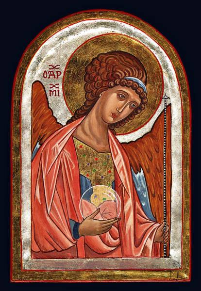 Painting - Archangel Michael by Raffaella Lunelli