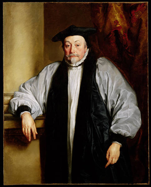 Beheaded Wall Art - Painting - Archbishop Laud C.1635-37 by Sir Anthony van Dyck