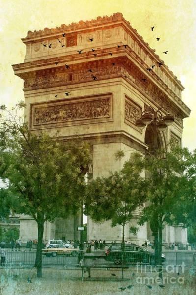 Photograph - Arche De Triomphe Mood by Carol Groenen
