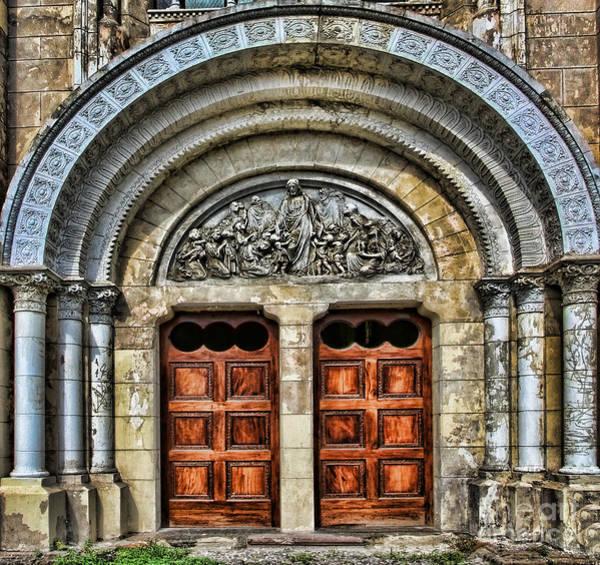 Photograph - Arched Doors Of Iglesia San Francisco De Asis By Diana Sainz by Diana Raquel Sainz
