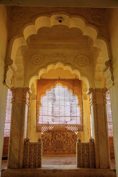 Singh Wall Art - Photograph - Arched Doorways, Mehrangarh Fort by Inger Hogstrom