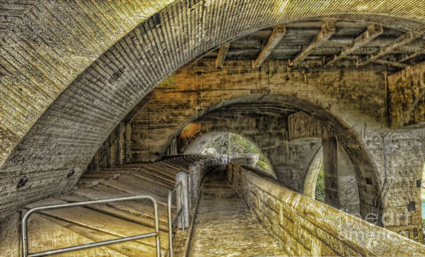 Photograph - Arched Walkway by Jim Lepard