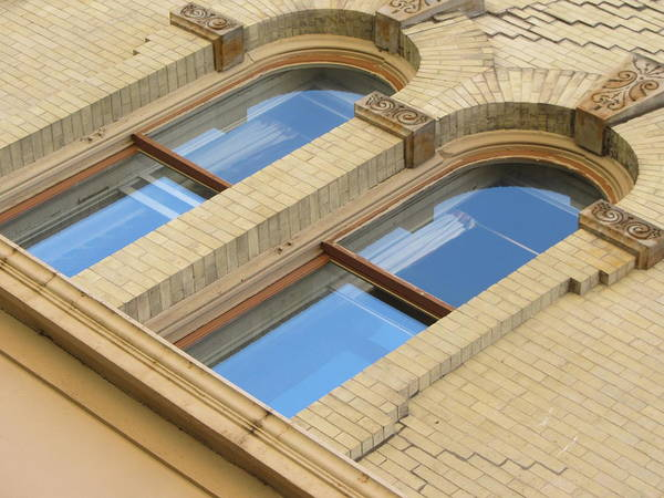 Photograph - Arched Windows Close Up 1 by Anita Burgermeister