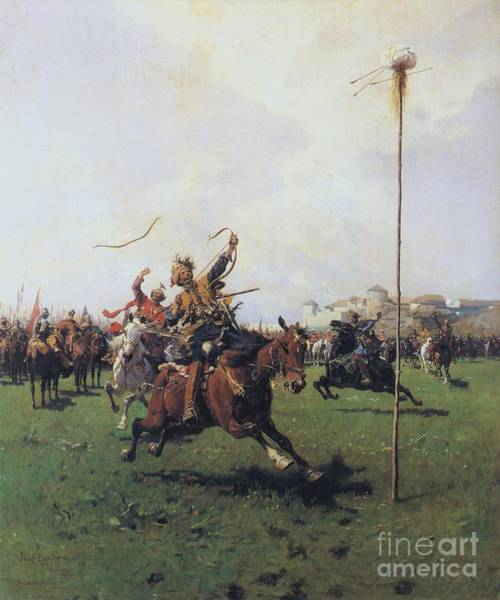 Archery Wall Art - Painting - Archery by Pg Reproductions