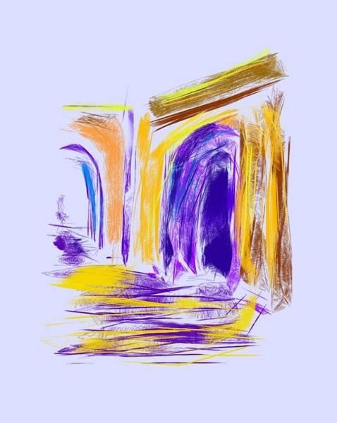 Wall Art - Digital Art - Arches 2 by Joann Renner