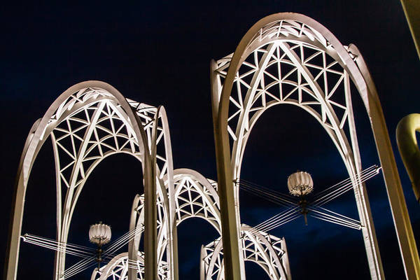 Photograph - Arches And Angles 1 by Melinda Ledsome