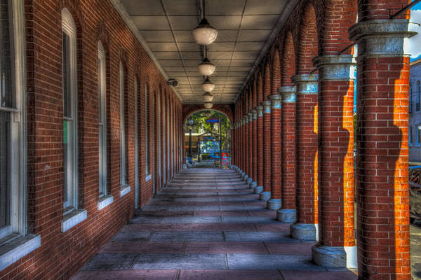 Promenade Photograph - Arches And Columns by Marvin Spates