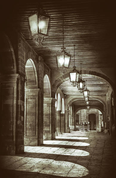 Photograph - Arches And Light by Barry Weiss