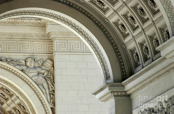 Stone Carving Wall Art - Photograph - Arches by Dan Holm
