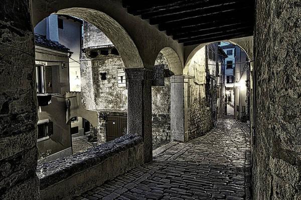 Balkan Peninsula Photograph - Arches In Rovinj - Croatia by Stuart Litoff