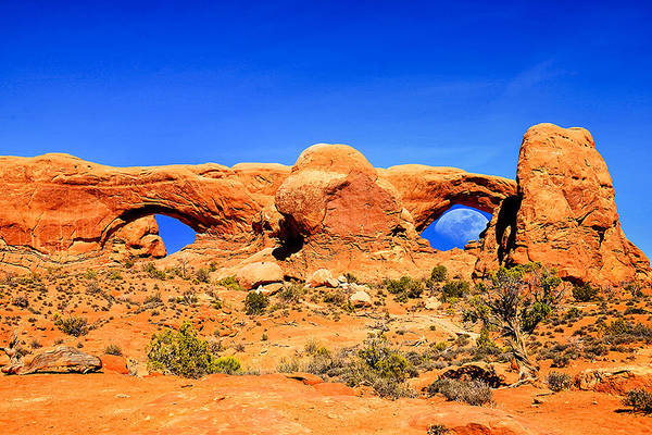 Photograph - Arches Moon Eye Exclusive Limited Edition by Greg Norrell