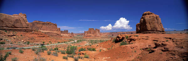 Sagebrush Photograph - Arches National Park, Moab, Utah, Usa by Panoramic Images