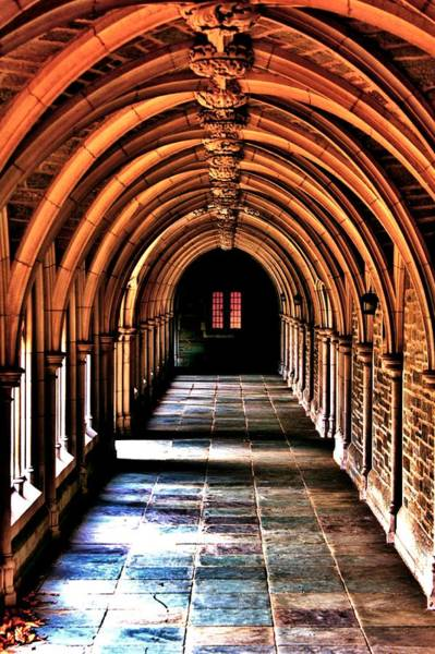Wall Art - Photograph - Arches Of Princeton by Benjamin Yeager