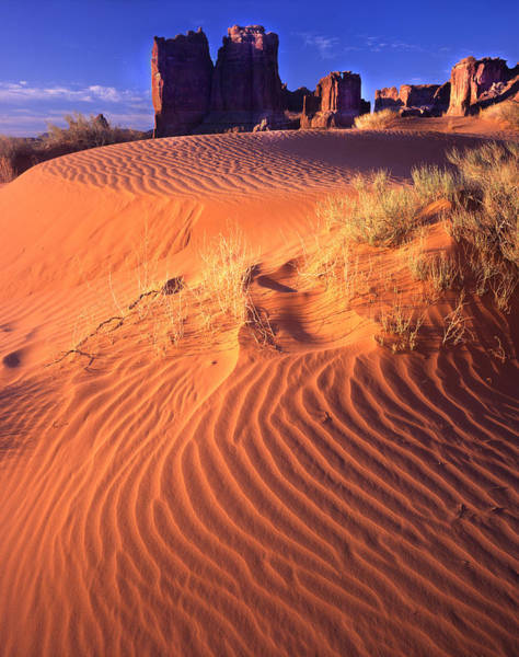 Photograph - Arches Sand Dunes by Ray Mathis