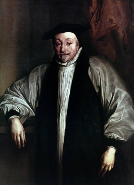 Painting - Archibishop William Laud by Granger