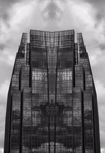 Photograph - Architect's Dream Black And White by Dan Sproul