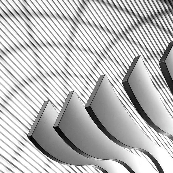 Photograph - Architectural Abstract 4 - Interior Of by Lubilub