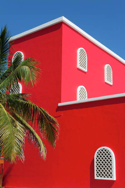 Quintana Roo Photograph - Architectural Detail In Costa Maya by Richard Cummins